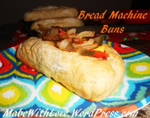 Bread Machine Buns